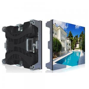 Quality Waterproof Led Large Screen Display , Super Slim Led Backdrop Screen Rental for sale