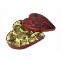 Quality Vintage Heart Shaped Tin Box for sale