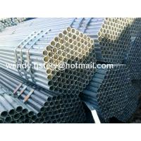 Quality water line pipe hollow section galvanized round steel pipe p235gh for sale