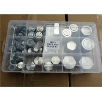 Quality Carbon Steel Machine Nut And Bolt Assortment Kits Zinc Plating M1 - M24mm Size for sale