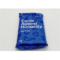Quality Custom Made Playing Cards Against Humanity Jew Pack With Different Sizes for sale