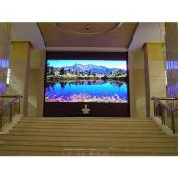 Quality P4 HD 800 Nits Brightness Indoor LED Video Wall 14-16 Bits For Advertising for sale