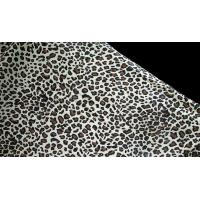 Quality Leopard Velvet Chiffon Fabric for sale