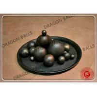 Quality Good Toughness High Chrome Grinding Media Balls , Industrial Grinding Balls for sale