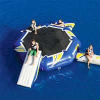 China 0.9mm PVC Tarpaulin Round Inflatable Water Sports / Inflatable Aqua Jump Eclipse Water Park on sale