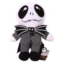 Quality The Nightmare Before Christmas Jack Skellington 23cm Height Plush Doll Toy New for sale