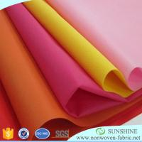 Quality Colorful PP spunbond nonwoven fabric,polypropylene,wrapping paper for flower,printed nonwoven,black fabric table clothes for sale