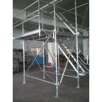 Light Weight Aluminum Ring Lock scaffolding System with 30Kg / ㎡ Loading Capacity