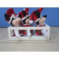 Quality 10cm Full Set Original Family Disney Soft Toys in Tray For Christmas for sale
