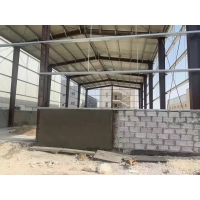 Quality S355 Light Steel Structure Warehouse Building With Grey Color Paint for sale