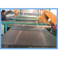 Buy Rust Resistant Mining Vibrating Screens Mesh Manganese Steel And Polyurethane Material at wholesale prices