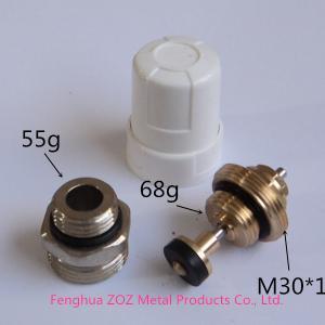shutoff balancing valve for heating manifolds