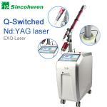 Machine à commutation de Q de retrait de tatouage de laser de ND YAG, traitement de laser pour la tâche de naissance/champignon de clou