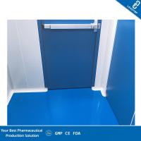 China GMP ISO 7 Pharmaceutical Clean Room Provide Clean Vertical Airflow With PVC Flooring on sale