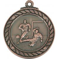 Buy cheap 6.5cm, zinc alloy, bronze football medal from wholesalers