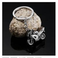 Quality New creative gift product metal motor bicycle motorbike motorcycle keychain keyrings for sale
