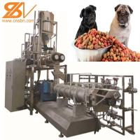 Quality 2-3t/H  Pet Food Processing Line Extruder Machine Saibainuo Dry For Dog / Cat / Fish for sale