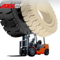China APEX Forklift Solid Tire for 5, 8, 9, 10, 12, 15, 16, 20, 24, 25 inch solid tyre on sale