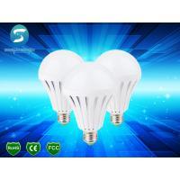 China Intelligent LED Emergency B22 / E27 5W Rechargeable Bulb Light 9W wholesale
