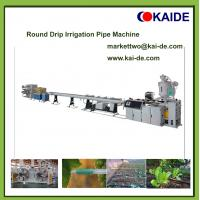 Buy Round Drip Irrigation Pipe Making Machine 6mm,12mm,16mm,20mm at wholesale prices
