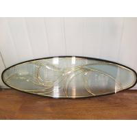 Quality Architectural Energy Saving Glass, Clear Oval Insulated Glass Panels for sale
