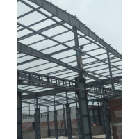 Quality Heavy Duty Q345B H Beams Fabricated Steel Structure For Workshop for sale
