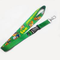 Quality Factory direct promotional jacquard logo woven lanyard straps for sale