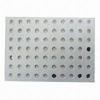 Quality Perforated Cement Board with Non Asbestos and 13MPa Bending Strength, High Impact-resistant Ability for sale