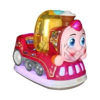 Quality Coin Operated Baby Face Kiddie Rides Game Machine For Playground for sale