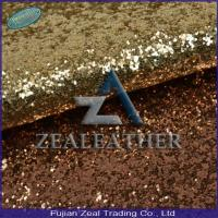 China Glitter PU Rexine Leather for Lady Shoe Making on sale