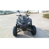 Quality 4 Stroke Utility ATV , One Seat Red Automatic Kandi 200CC Quad for sale