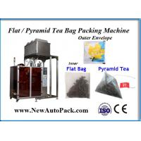 China Non-woven tea bag packing machine with outer envelope for Vietnam tea on sale