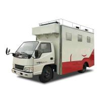 Quality Customized JMC Mobile Cooking Trucks , Street Food Truck For Dessert / Cafes / Boissons for sale