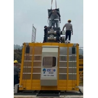 Buy cheap Rack And Pinion Elevator With Variable Frequency Drive Of various Speed from wholesalers