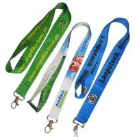 China No Minimum Key Card Holder Lanyard PMS Color Woven Lanyards Personalized on sale