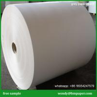 China Mixed Pulp Liner board 250-2500gsm High Quality GREY CHIP BOARD on sale