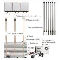 Quality 24 Hours Working Prison Cell Phone Jammer 6 Antennas 2G 3G 4G GPS 90w Power for sale