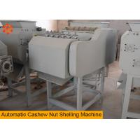 Quality Steel Material Nut Processing Machine Cashew Nut Shell Machine 0.75KW Power for sale