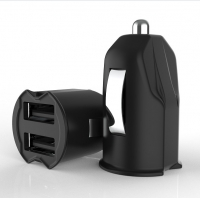 China FCC 2 Micro USB 5V2.4A Dual Port Car Charger on sale