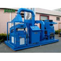 Quality Continuous Feed Scrap Copper Wire Granulator 3400kg Weight Intelligent Operation for sale