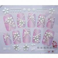 Quality Nail Sticker in Beautiful and Fashionable Design, Ideal for Girls for sale