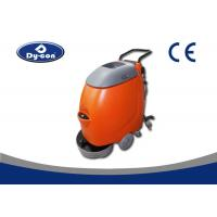 Custom Walk Behind Compact Floor Scrubber Dryer Machine High Maneuverable