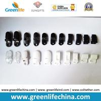 Quality Plastic ABS Clasp Clips Black White Clear Colors for sale