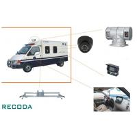 Quality 1/3 Sony CCD 360 Degree Rotation Armed Escort Vehicle Security Camera System for sale