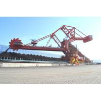 Quality Single / Double Cantilever Bucket Material Handling Machine Bucket Wheel Reclaimer for sale