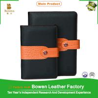 China BWB-27-D leather diary 2016 diary cover design executive a5 leather diaries on sale