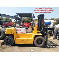 Quality Tcm 5 Ton Used Diesel Forklift Truck , Durable Diesel Powered Forklift for sale
