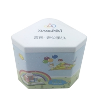 Quality Offset Printing Custom Tin Box For Chocolate Packaging for sale