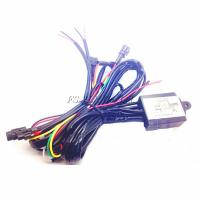 China Car Led daytime Running Light DRL Controller Cable Harness Switch Controller Universal on sale