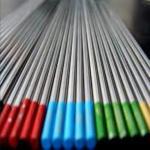 Quality WT20 Lanthanum tungsten electrodes WL10 WL15 WL20 FREE SAMPLE HYUNDAI WELDING for sale